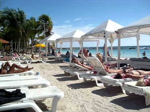Mambo Beach in Curacao Netherlands Antilles