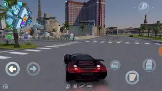 Катаемся по Вегасу 3 машина из миссии Зачарованный Gangster Vegas