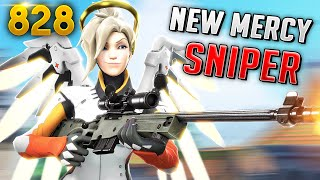 mercy has a new sniper rifle overwatch daily moments ep828 funny and random moments