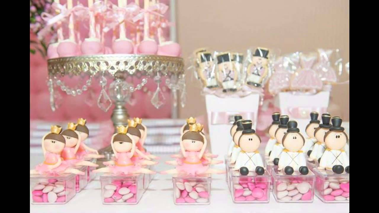 Fascinating ballerina party decorations ideas youtube for Ballerina party decoration