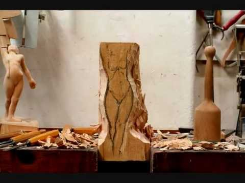 """wood carving""  time lapse by Heinrich Eder"