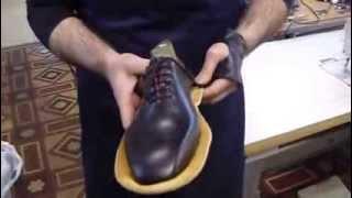 видео Индивидуальный пошив обуви на заказ в Санкт-Петербурге