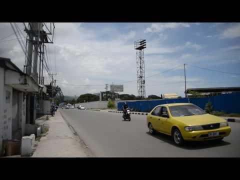 アキーラさん散策!東ティモール・ディリ・スタジアム近く!Near stadium in Dili in East Timor