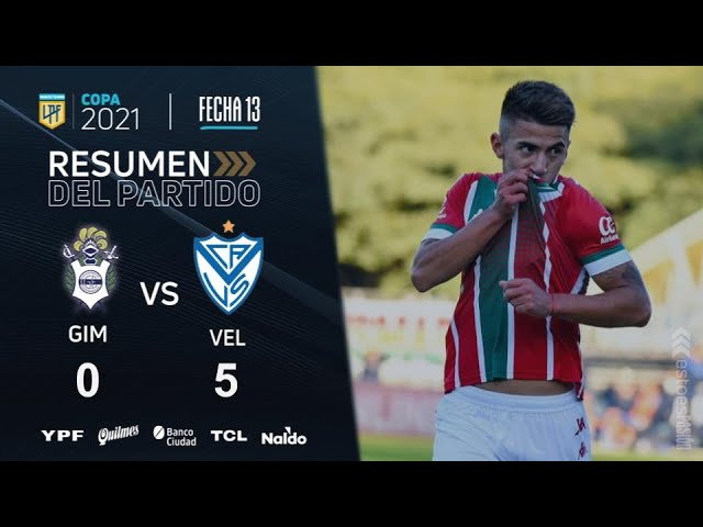Copa De La Liga | Fecha 13 | resumen de Gimnasia - Vélez