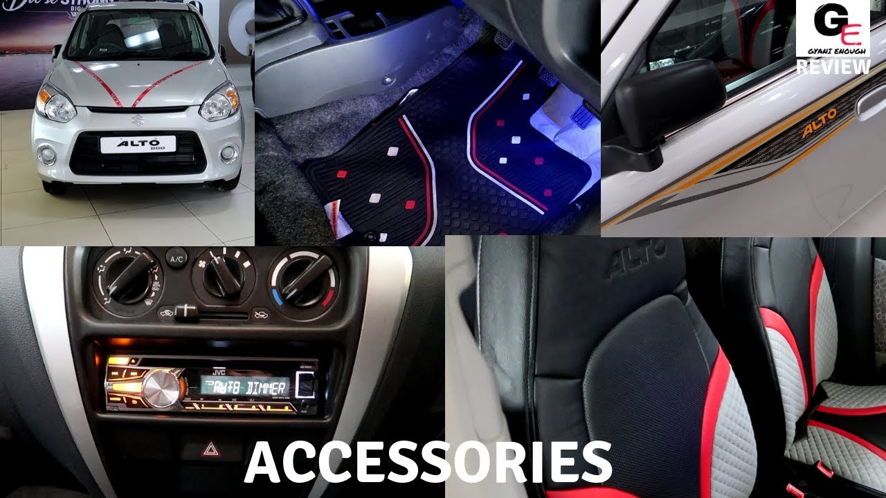 Alto 800 Lxi Accessories Modified Alto 800 Lxi Prices Review Features Spec Youtube