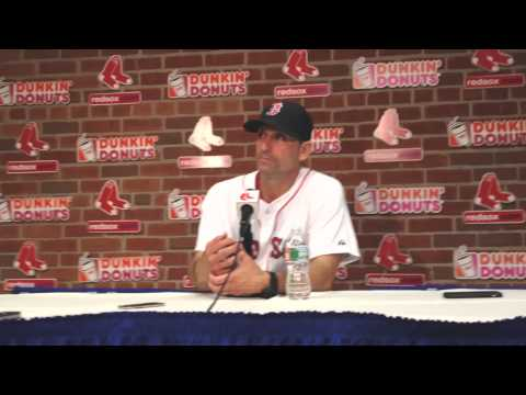 Torey Lovullo on Henry Owens roughed up, David Ortiz out at plate