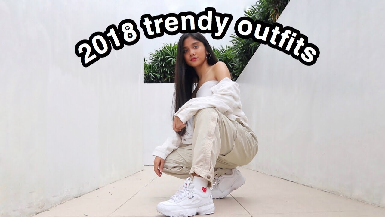 2018 Trendy Outfits Lookbook