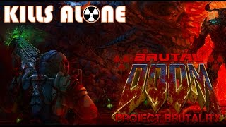Project Brutality 3.0 Test (2017) Brutal DOOM 420: Belly of the Beast