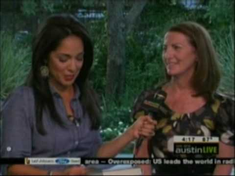 """Lorna Byrne author of Angels in my hair. Live interview with KEYE TV Texas. """"Austin live"""""""