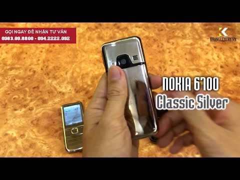 Nokia 6700 Chính Hãng 3 màu Gold - Bạc - Đen [khangluxury.vn]