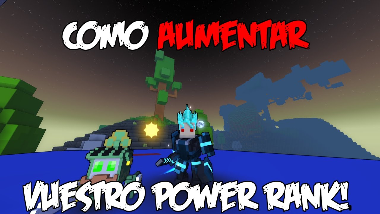 trove how to get power rank fast