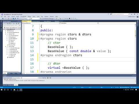 Code Folding in Microsoft Visual Studio 2017