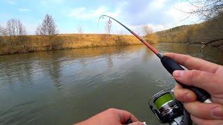 Рыбалка на малой реке с берега Прогулка по красивейшим местам