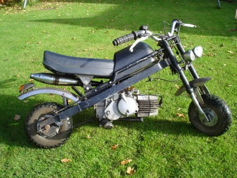 Mini Motorrad Pocket Bike Diy Youtube