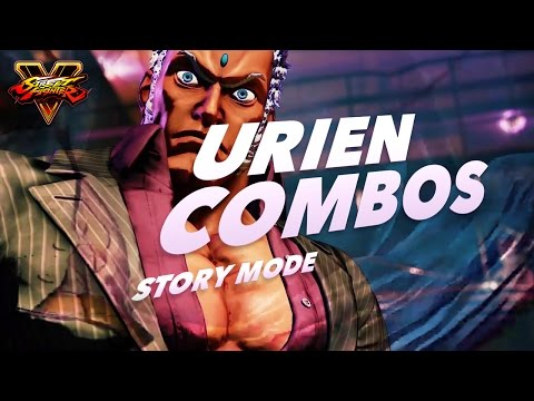 Urien SFV combos and movelist