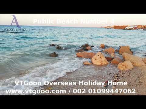 Public Beach Number 4 Hurghada RedSea Egypt Live Video By VTGooo
