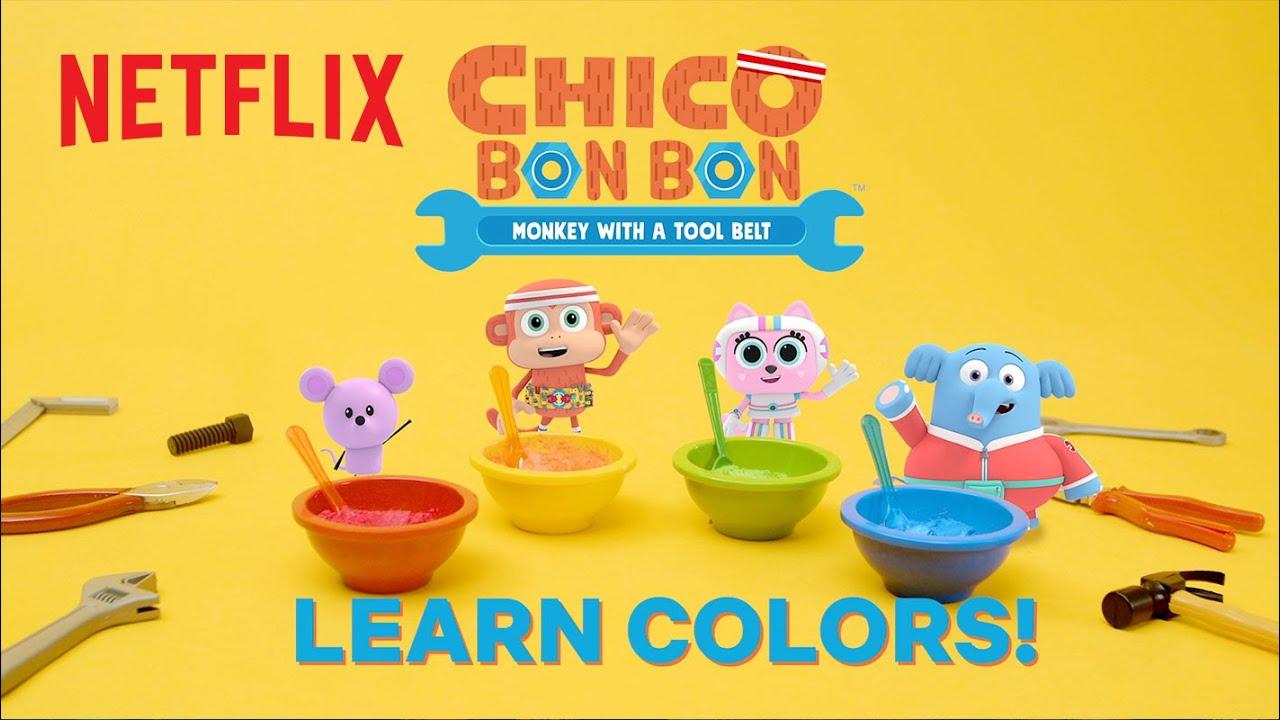 Learn Colors with Chico Bon Bon Slime 🎨  Netflix Jr