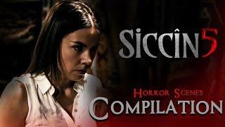 SİCCİN 5 - Movie | Best Horror Scene Compilation Part 1 |  Merve Ates | Selim Aydin | Ece Baykal