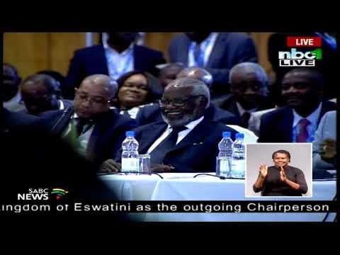 Namibian President Hage Geingob acceptance speech - 38th SADC Summit