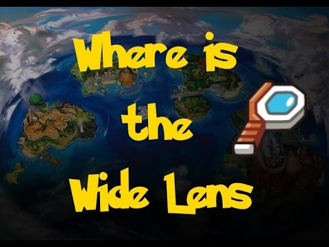 Where Is: The Wide Lens (Pokemon Sun/Moon)