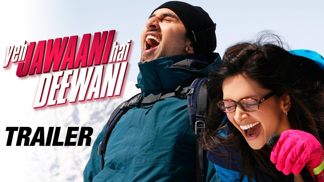 yeh jawaani hai deewani - official trailer | ranbir kapoor, deepika