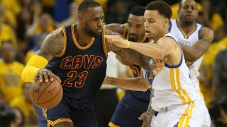 Golden State Warriors beat Cleveland Cavaliers in game one overtime thriller