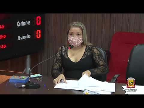 SESSÃO ORDINÁRIA DO DIA 20-05-2020