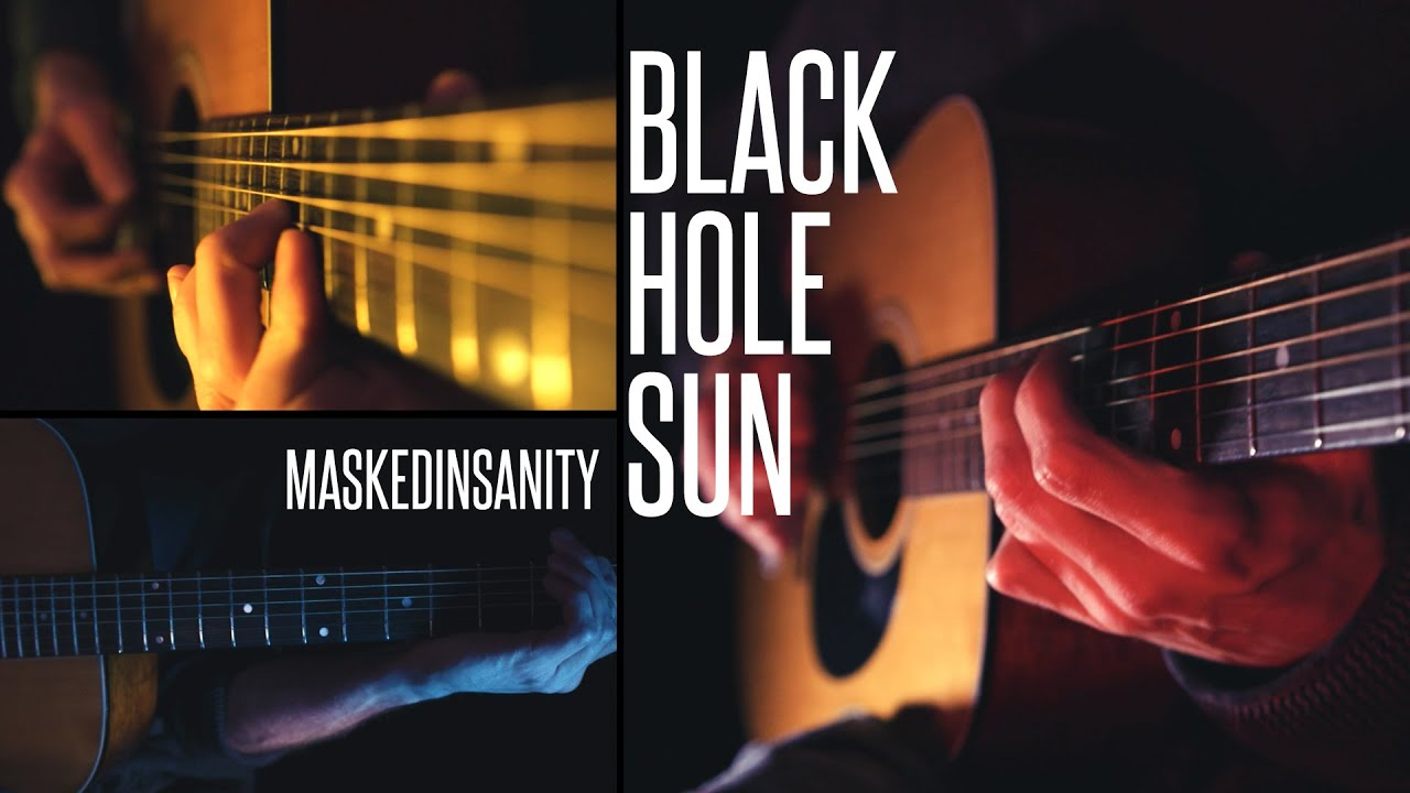 soundgarden 39 black hole sun 39 acoustic guitar cover a tribute to chris cornell by. Black Bedroom Furniture Sets. Home Design Ideas