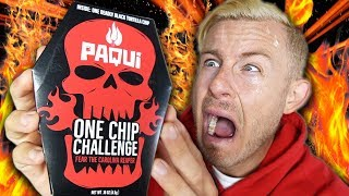 I ATE THE HOTTEST CHIP IN THE WORLD! (EXTREME SPICE CHALLENGE)