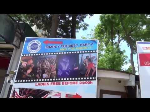 Bulgarien Sonnenstrand Hotels am Strand - Party Club Iceberg CPH Disko Party Spaß