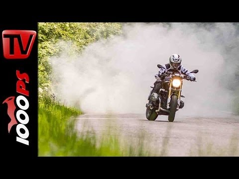 BMW RnineT Wheelie | StuntFriday Action
