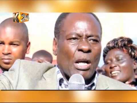The Late Nyeri Governor Nderitu Gachagua's Final Journey