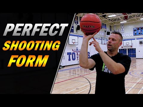 How To: Get PERFECT Shooting Form | Shoot A Basketball Better ...