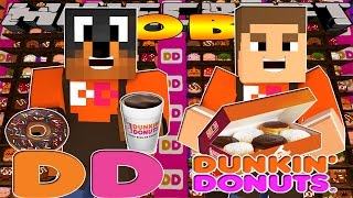 Minecraft - Donut the Dog Adventures -DUNKIN DONUTS w/LITTLE DONNY!!!!