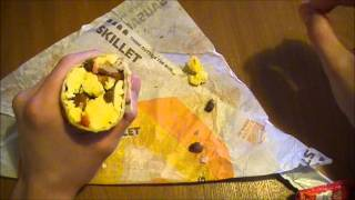 Taco Bell Breakfast - Grande Skillet Burrito - Fast Food Review