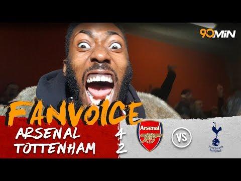 Arsenal win the north London Derby! | Arsenal 4-2 Tottenham | 90min FanVoice