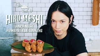 "#23 How To Cook ""INARI SUSHI & SOBA INARI"" Japanese Home-Style Cooking / Hiro Mizushima(水嶋ヒロ)"
