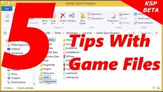 Kerbal Space Program 5 Tips With Game Files
