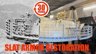How we recreated 30-year-old TANK TURRET SLAT ARMOR!