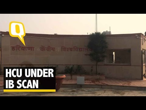 The Quint: HCU Students Under IB's Scan For Paying Tribute to Mahashvetadevi