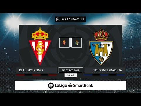 Real Sporting - SD Ponferradina MD19 S1800