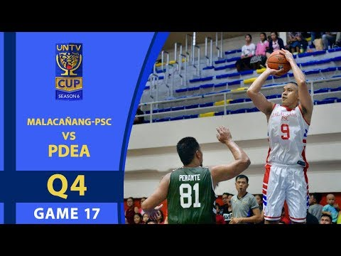 UNTV Cup 6: Malacañang-PSC vs PDEA — Q4