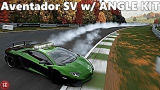 Forza Motorsport 7: Lamborghini Aventador SV, DRIFT SUSPENSION, TWIN TURBO Build!!