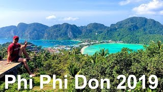 KOH PHI PHI DON 2019. Three Happy Days