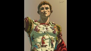 Augustus - The First Roman Emperor - Speed Drawing