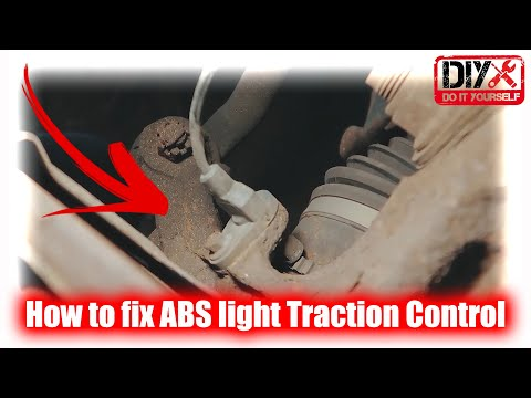 🔴 How to fix ABS light, Traction Control, stabilitrak light on, LINCOLN!