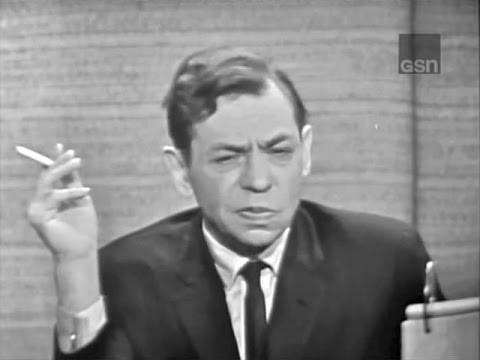 What's My Line? - Oscar Levant; Milton Berle [panel] (Oct 17, 1965) [W/ COMMERCIALS]