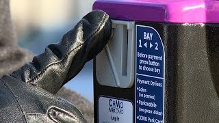 New CoMo Park Card and Parking Meters