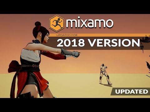 Character Animation With Adobe Mixamo For Beginners - 2018 Edition
