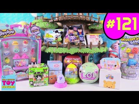 Blind Bag Treehouse #121 Unboxing Disney Baby Secrets Num Noms LOL PSToyReviews